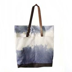 Stormy Dyed City Tote