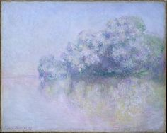 Île aux Orties near Vernon, Claude Monet (French, Paris 1840–1926 Giverny), Oil on canvas