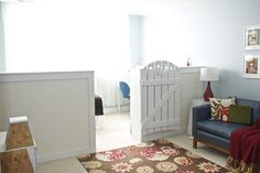 { the vintage wren }: :: divided room- perfect for separating sleeping from play space or for younger and older child sharing a room