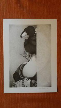 ☆ Il fascino del bianco e nero ☆ Matita su foglio Fabriano F4