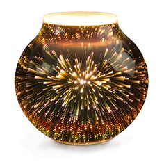 Melt our wax with the heat of a low-watt lightbulb and fill your space with fragrance - not flame, smoke or soot.Rediscover wonder. Stargaze comes alive with a brilliant burst of light and color, giving you a front-row seat to a dazzling show.
