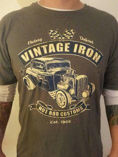 Cartel Ink Speed Thrills T-Shirt Rockabilly Kustom Kulture Car Hot Rod Retro