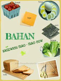 Masakan Unik - Sandiwch Mao Mao Cow  Bahan : • Gunting • Tusuk Gigi • Selada • Tomat • Roti • keju • Telur • Nori  NB : website (http://ResepMasakanSederhana.net/) kami dalam proses pembuatan   #resep#masakan#sederhana#unik#unique#enak#recipes#food#nori#keju#roti#sandwich#cow