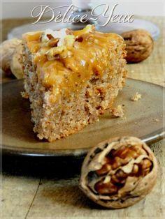 L'Arboisien : gâteau aux noix et amandes