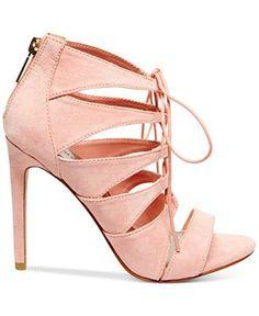 Madden Girl Raceyyy Ghillie Dress Sandals - Shoes - Macy's