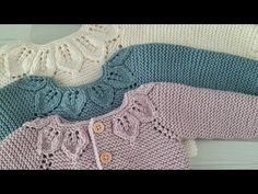 Knitting For Kids, Baby Knitting Patterns, Jonathan Scott, Knitted Baby Clothes, Baby Cardigan, Crochet Baby, Youtube, Sweaters, Fashion