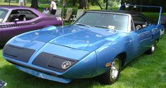 """1970 Plymouth Road Runner Superbird - its styling was so """"extreme,"""" many of the 1,920 built sat unsold on dealerships' back lots. Today, a prime example can fetch over a million dollars."""