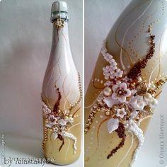 Декор предметов Свадьба Лепка Вдохновение  Бисер Пластика фото 1