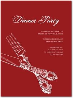 28 best dinner party invitations images on pinterest dinner dinner party invite stopboris Image collections