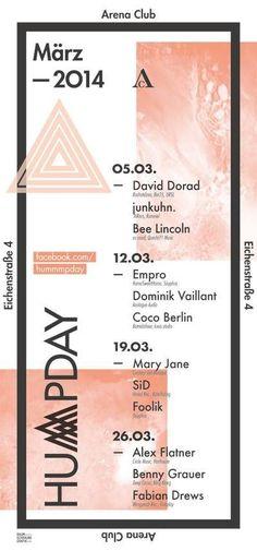 Hummmpday | Arena Club | Berlin | https://beatguide.me/berlin/event/arena-club-hummmpday-20140305