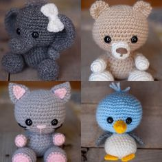 Today's featured small business owner for small business week is Theresa Kicher of @theresascrochetshop!  I've really enjoyed getting to know Theresa since I discovered her work. Aren't her amigurumi just adorable?  You can buy the patterns for all these cuties pictured (and more!) on her Etsy shop. Follow the link in her bio to check it out! She also sells patterns for kids hats. And the best part? She takes custom orders for all her amigurumi and if you can't make it yourself you can…