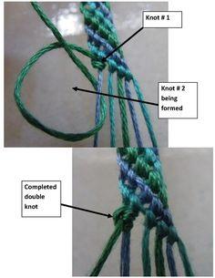 how to make friendship bracelets with a home-made loom