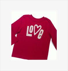 "Girls Valentine Shirt Pre-Order Now ""LOVE"" Applique Cheetah Print Fabric Red T-shirt Valentine Photo Prop Children Boutique Clothing"