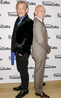 Ian McKellen and Patrick Stewart best bromance ever