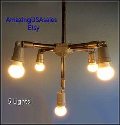 Industrial Furniture  Steampunk light  Bar par AmazingUSAsales