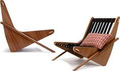 Boomerang Chair by Richard Neutra.