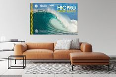 a62b5dd274 2018 VANS HIC PRO Sunset Beach Competition Print - Surfing Poster in ...