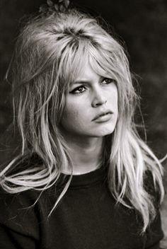 I wish my hair did this...Brigitte Bardot