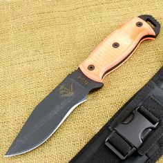 Ranger Knife: NS-4 - Orange G-10 Handle $67.03.  Only 1 left in stock at this price!