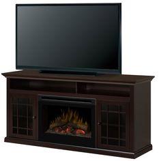 dimplex electric fireplace entertainment center