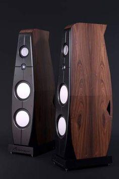 Audiophile Speakers, Hifi Audio, Stereo Speakers, Audio Design, Sound Design, At Home Movie Theater, Hi End, High End Audio, Loudspeaker