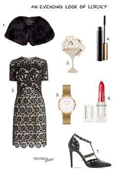 OUTFIT EDIT   AN EVENING LOOK OF LUXURY: http://www.twynkleloves.com/2016/12/outfit-edit-evening-look-of-luxury.html #TwynkleLoves
