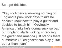 America and England <<< I love it