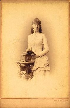 Princess Sophia of Prussia 1885. Daughter of Fritz and Vicky.