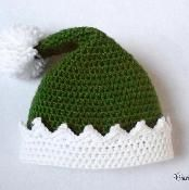 Elf Hat - Newborn to Adult - via @Craftsy