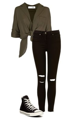 """./.../././/..//././/"" by anna-mae-equils on Polyvore featuring Converse"
