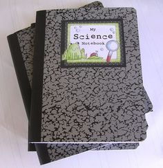 Here's a post with a number of resources to help you set up science notebooks with your students--must do some reading on this.  Great way to use that box of those composition notebooks sitting on my shelf!
