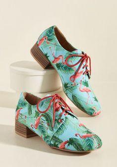 Flamingo Flow Oxford Heel