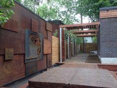 Cortenstahl Sichtschutz Fur Garten Ideen Und Beispiele