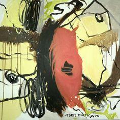 Akryl på canvas Toril Malmo
