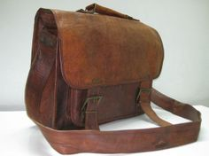 18 inches/inch Men's Laptop Bag Macbook by GenuineGoods786 on Etsy, $99.00