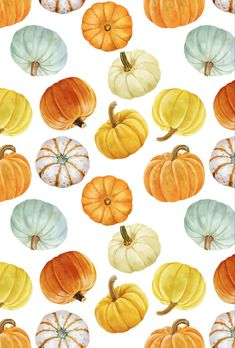 Cute Fall Wallpaper, Iphone Wallpaper Fall, Cute Wallpaper For Phone, Halloween Wallpaper, Aesthetic Iphone Wallpaper, Aesthetic Wallpapers, Fall Background, Watercolor Background, Watercolor Food