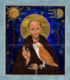 St Francis of Assisi icon, by Juliet Venter.