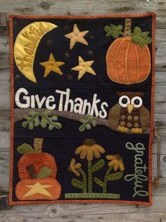 Owl'ways Thankful – Wooden Spool Designs