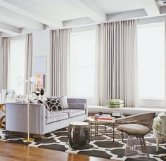 Light as air. For this NYC apartment designer Iain Halliday outfitted the living room with a Warren Platner for Knoll chair and a vintage Moroccan-inspired Baker coffee table. Photo by Ditte Isager. Decor, Living Room Inspiration, Furniture Design, Living Room Interior, Interior Design, Home Decor, Room, Top Interior Design Firms, Industrial Home Design