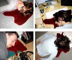 Pool of blood pillow. lol