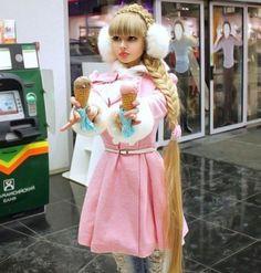 Doll lady