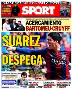 Portada Sport 10/03/2015