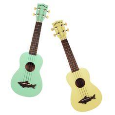 Cute Shark Ukulele. Christmas gifts for teen girls #pastel #ukulele