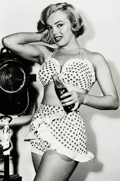 Marilyn Monroe in a promotional photo for Love Nest (1951)