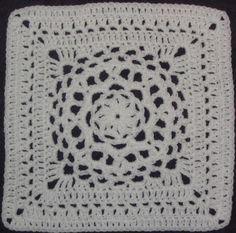 Mandala square- YarnCrazy Crochet World - Chris Simon's crochet patterns