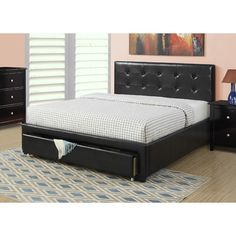 Wayfair - Beverly Storage Panel Bed by A&J Homes Studio - $409.99 On Sale