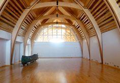 rubin + rotman architects / aanischaaukamikw cree cultural institute, oujé-bougoumou canada