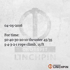 CrossFit Linchpin @crossfitlinchpin on Instagram photo 04/04/2016 18:03