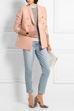 J.Crew | Irene wool and silk-blend blazer | NET-A-PORTER.COM