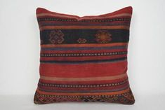 Kilim Pillow Covers on Sale Hellenistic Handwoven Kilim Fabric, Kilim Pillows, Kilim Rugs, Traditional Cushions, Turkish Art, Pillow Covers, Hand Weaving, Old Things, Vintage